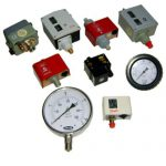 boilers-pressure-gauge and Switch